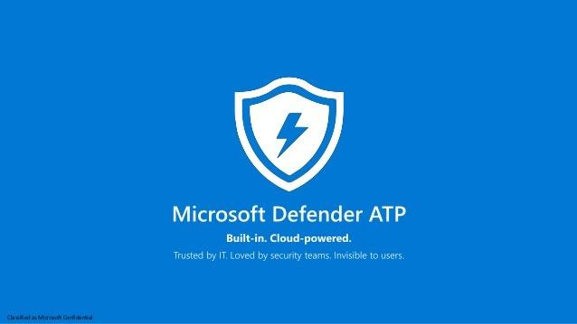 User vulnerabilities, threat hunting and MDATP